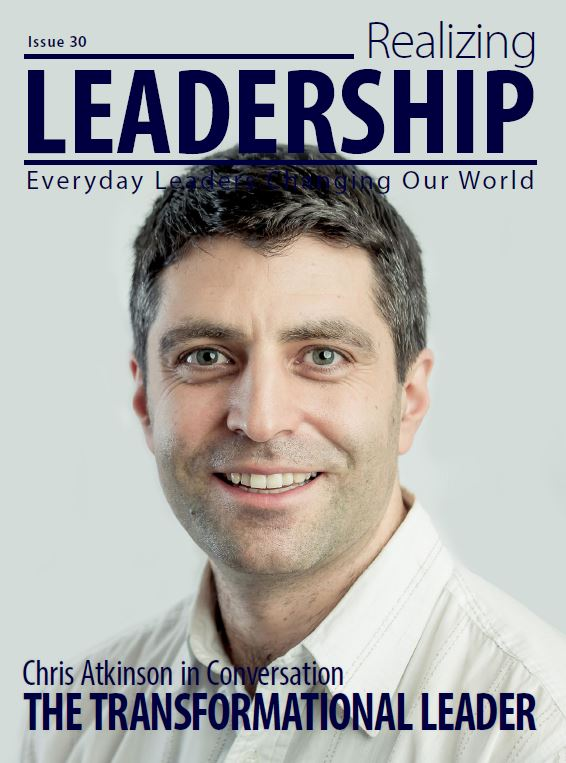 Chris Atkinson Realizing Leadership Magazine